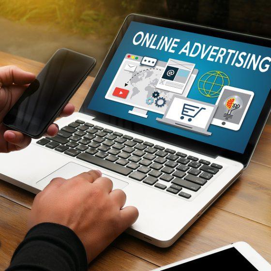 การทำธุรกิจออนไลน์ด้วยการโฆษณา